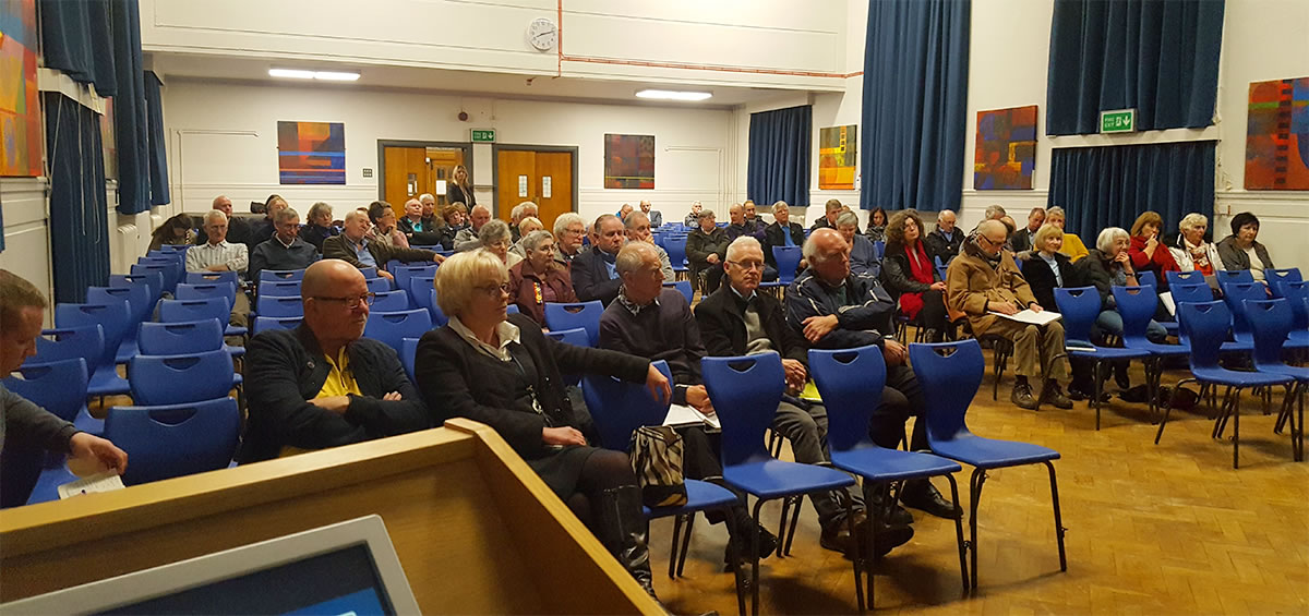 marshes community benefit fund presentation audience