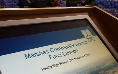 Marshes Community Benefit Fund Open Evening