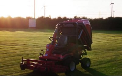 Frodsham Cricket Club - new mower