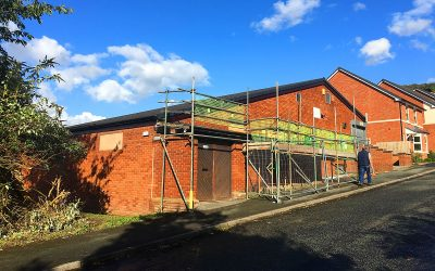 Helsby Scout Hut roof repairs