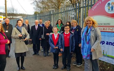 Chester Road to Helsby Hornsmill Walkway Officially Open!