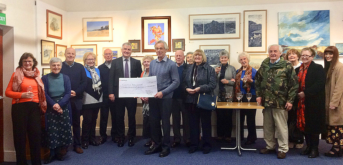 MCBF Grant for Castle Park Arts Centre Frodsham