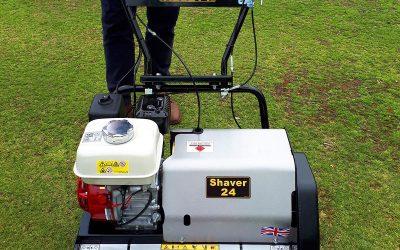 Frodsham Community Red Lion Bowling Club new bowling green mower.