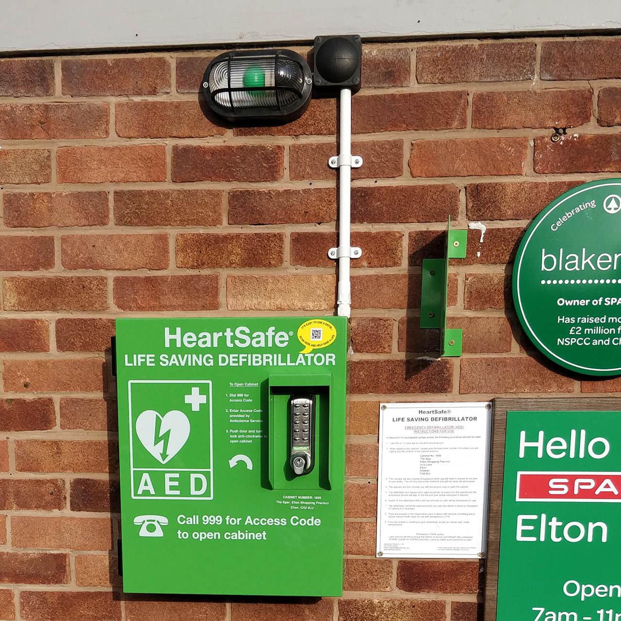 new elton community defibrillator