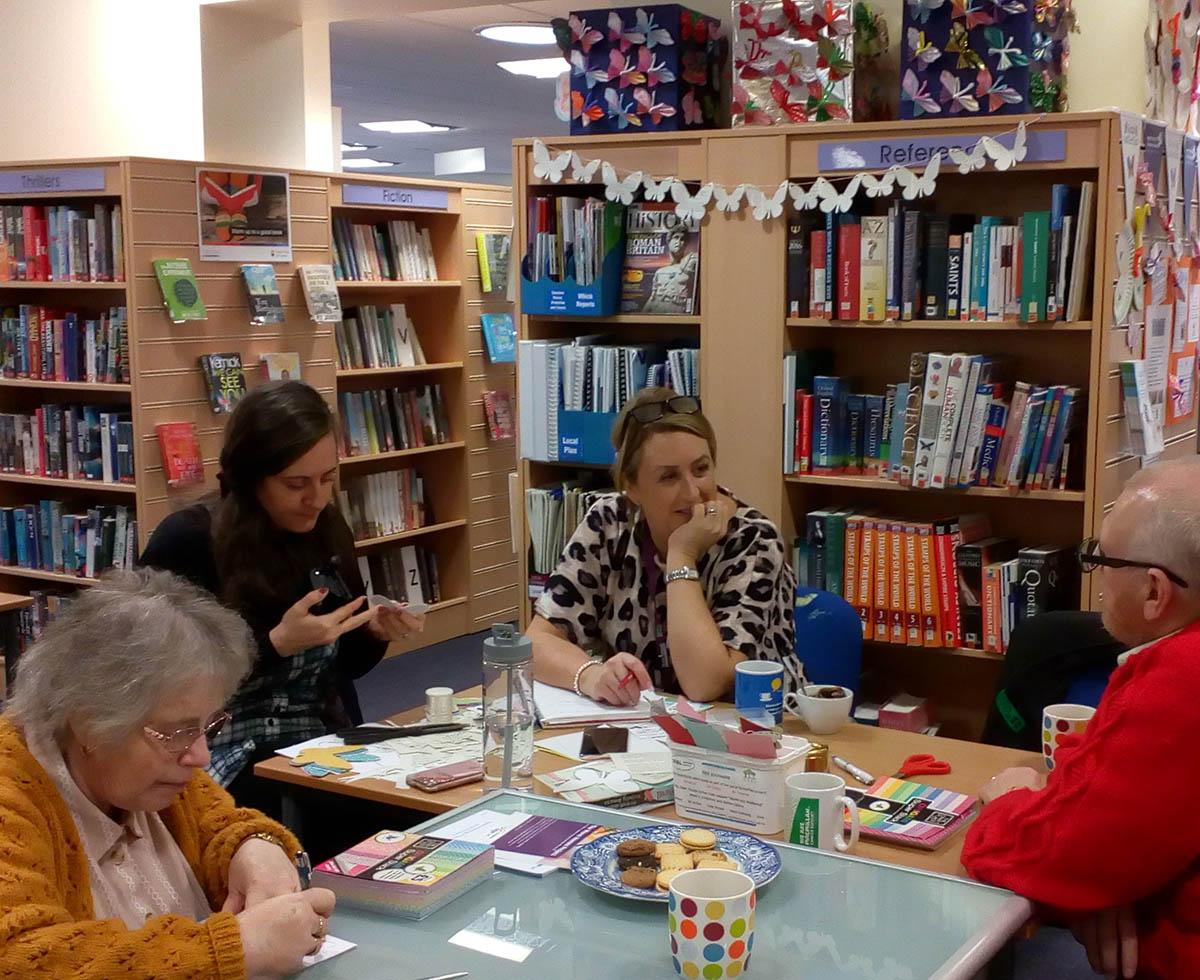 Regular OPAL members library drop-in Frodsham