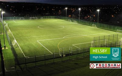 £40k Grant towards £1M 3G Pitch Facility at Helsby High School