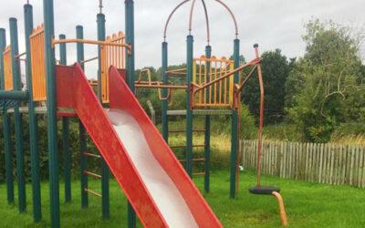 Sutton Weaver MCBF Grant for New Slide