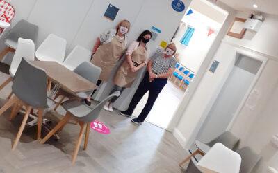 New floor for Elton Community Centre