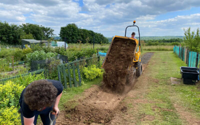 Frodsham Townfield Allotments Aaccess Track Improvements